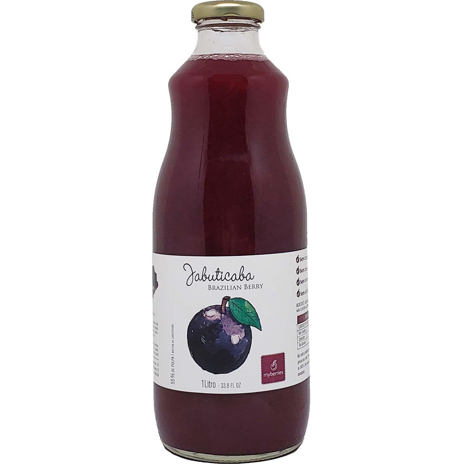 Suco Néctar Jabuticaba Myberries - 1L -