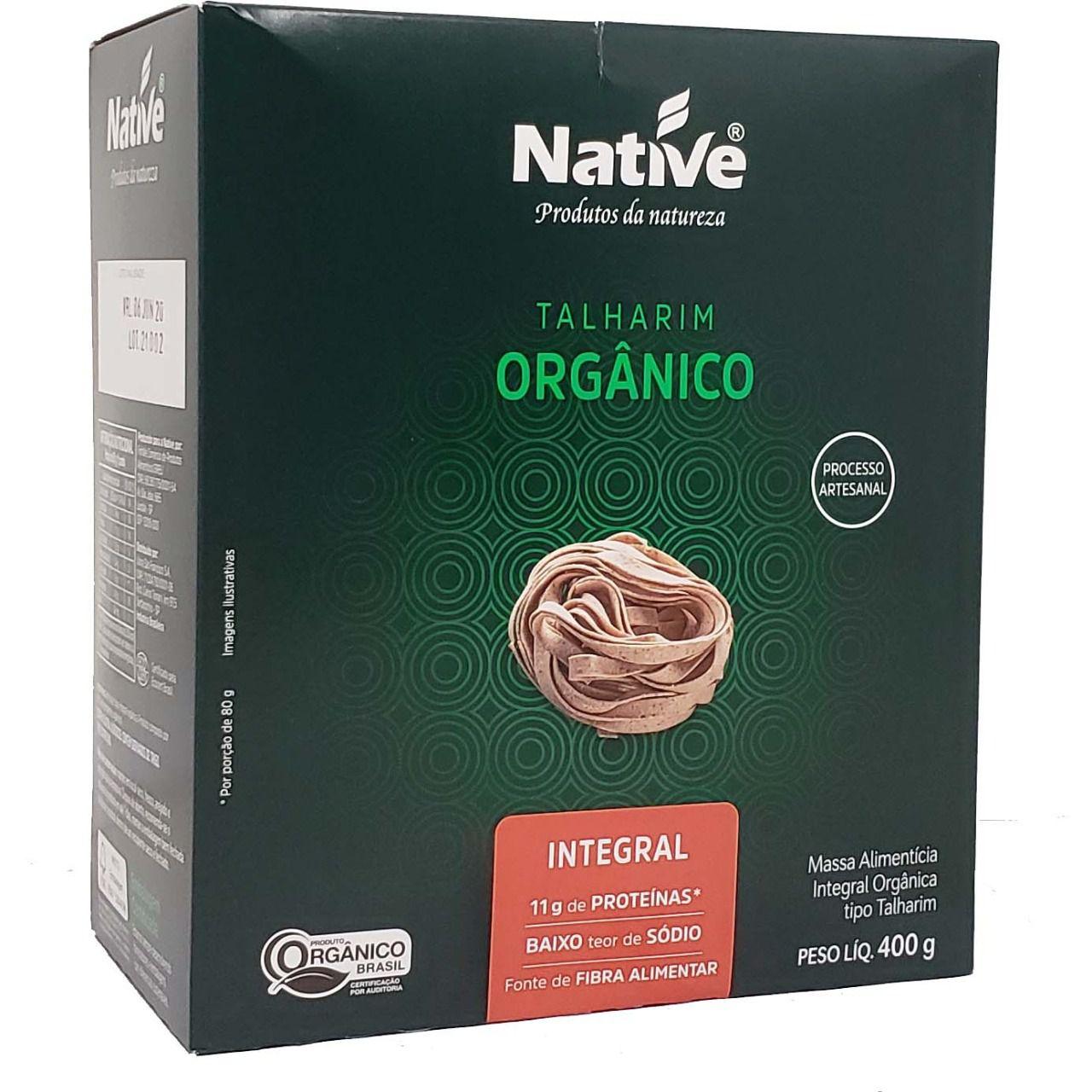 Talharim Orgânico Integral Native - 400g -