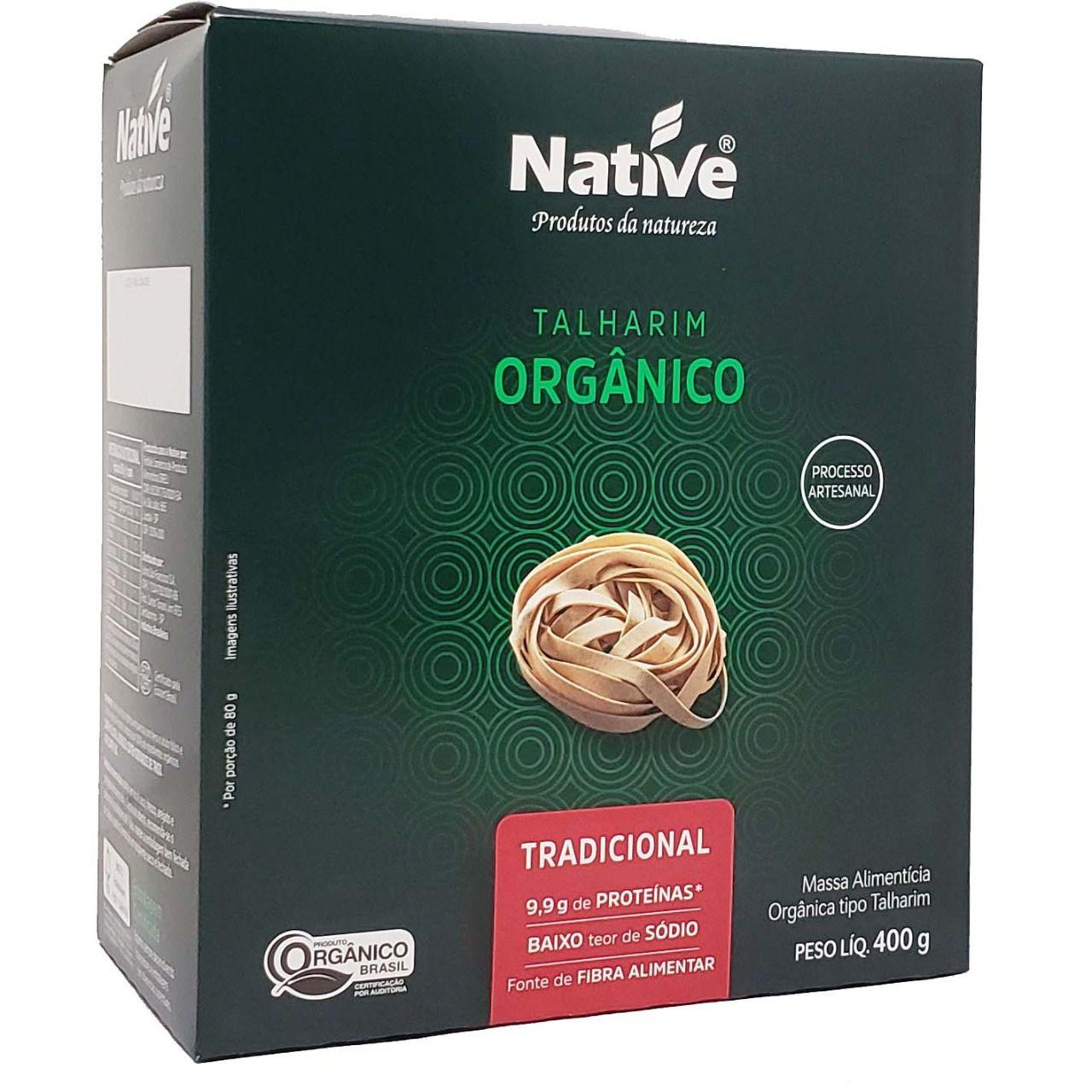 Talharim Orgânico Tradicional Native - 400g -