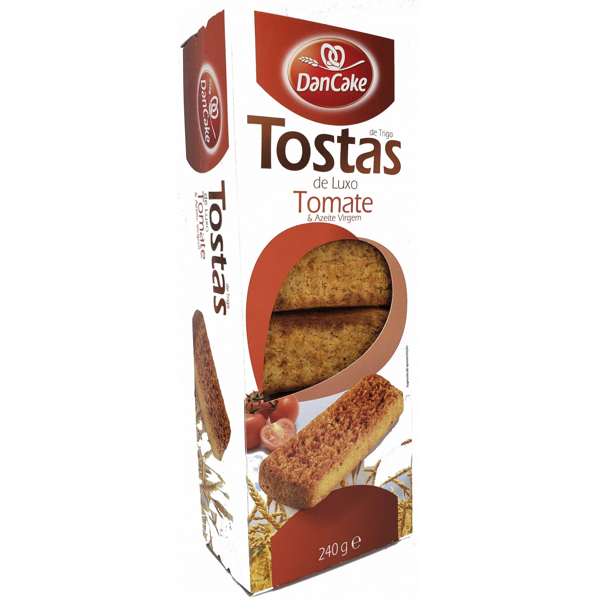 Tostas de Tomate DanCake - 240g -