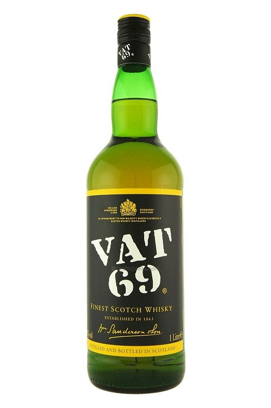 Whisky VAT 69 Blended Scotch - 1L -