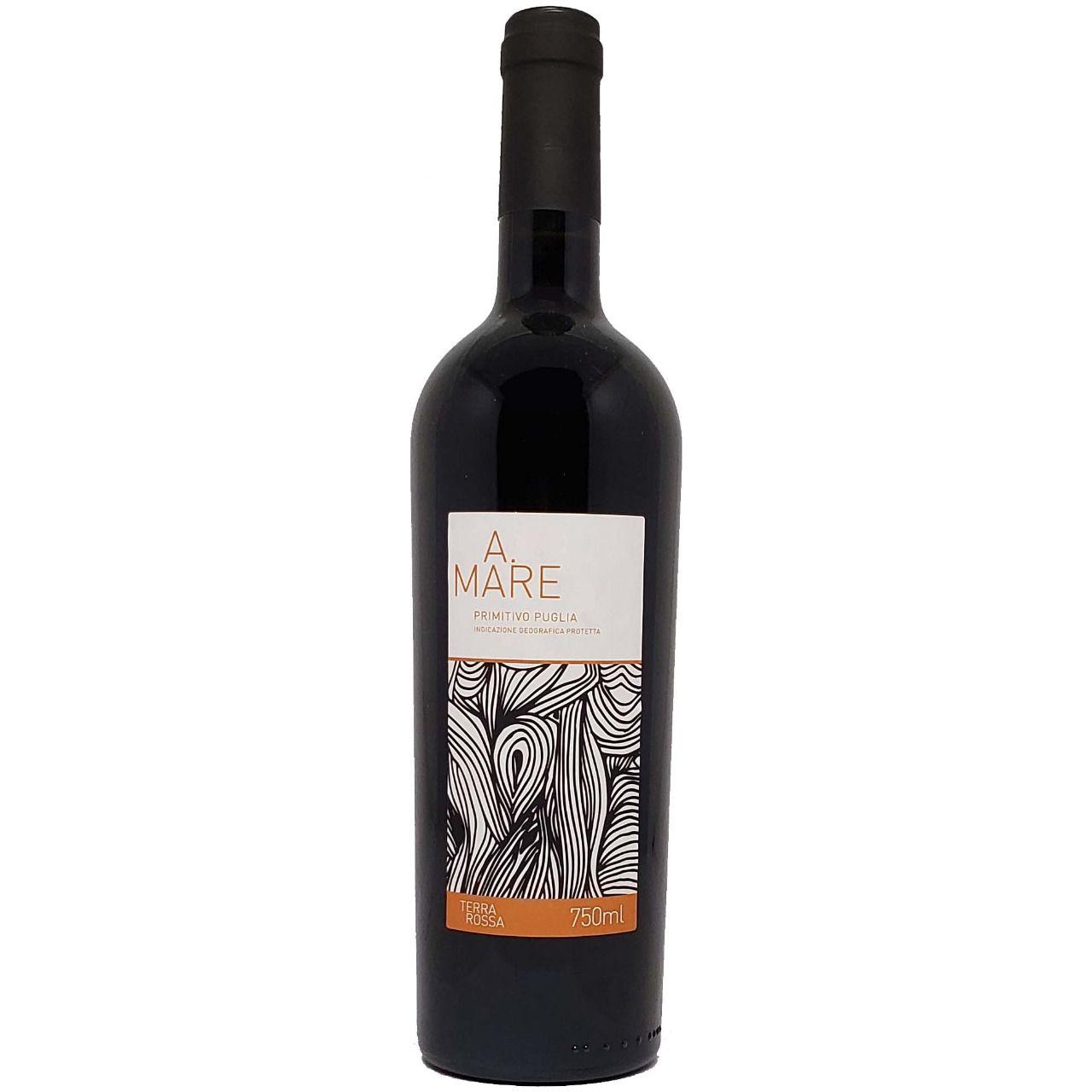 Vinho Tinto A.Mare Primitivo Puglia Terra Rossa - 750ml -