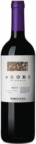 Vinho Tinto Adobe Reserva Merlot Emiliana - 750ml -