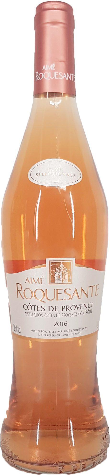 Vinho Rosé Aimé Roquesante Côtes de Provence  - 750ml -