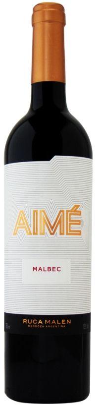 Vinho Tinto Aimé Ruca Malen Malbec - 750ml -