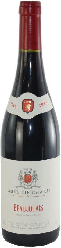 Vinho Tinto Beaujolais Abel Pinchard - 750ml -