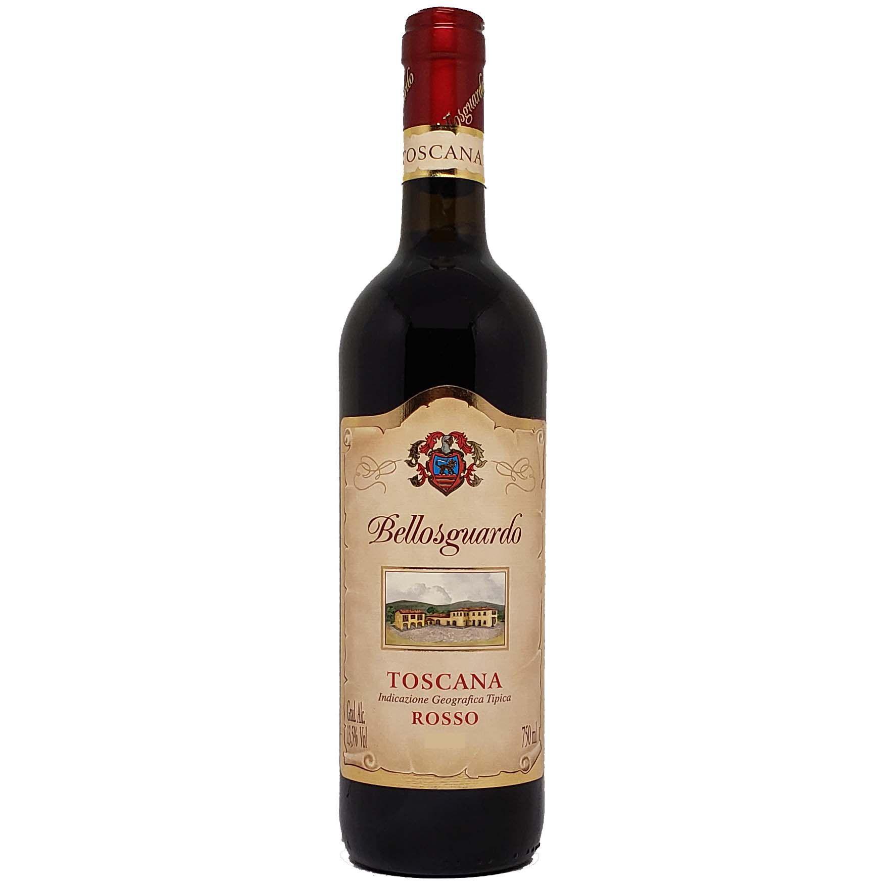 Vinho Tinto Bellosguardo Toscana Rosso - 750ml -