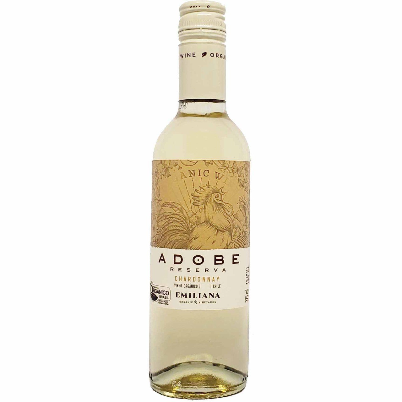 Vinho Branco Adobe Reserva Chardonnay Emiliana - 375ml -