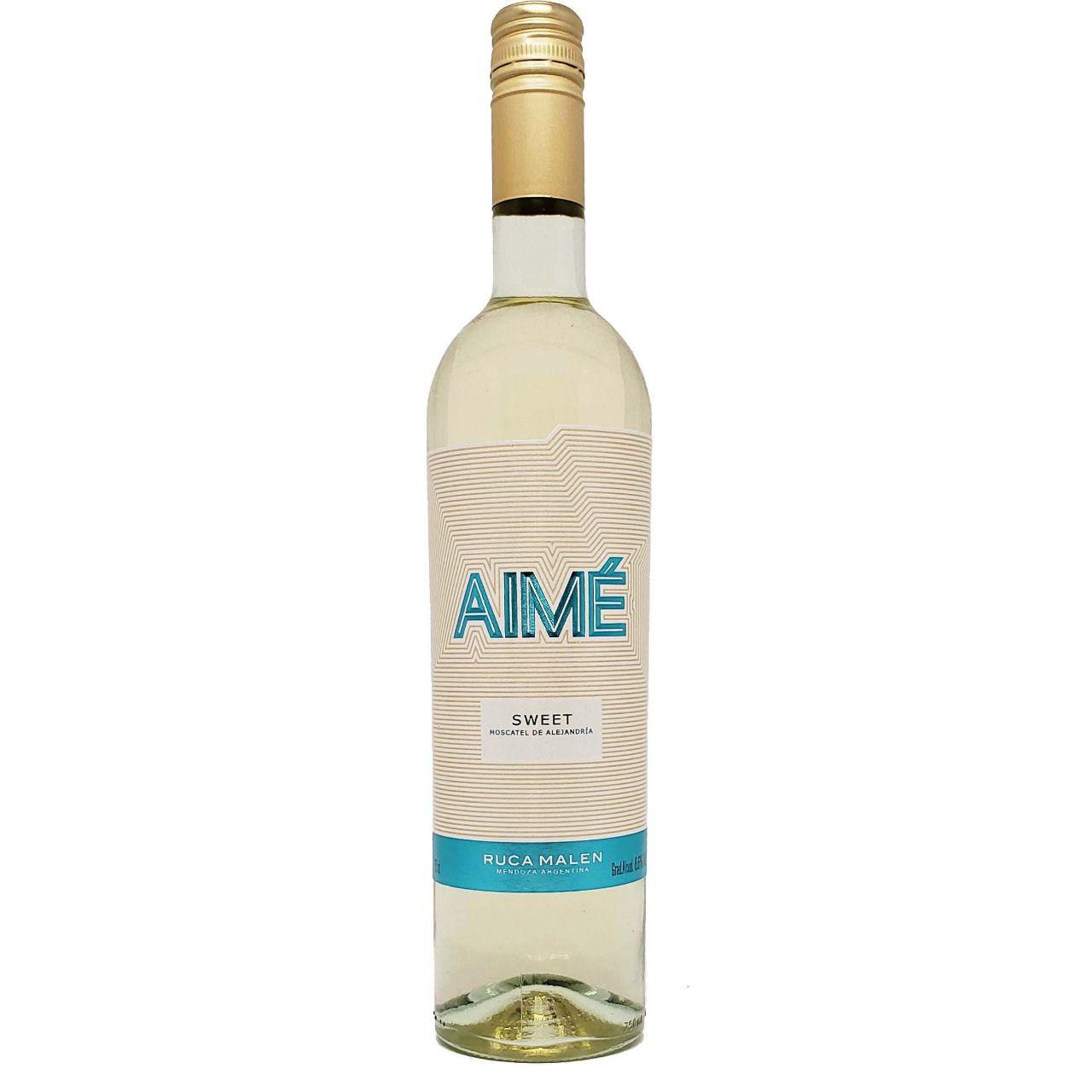 Vinho Branco Aimé Ruca Malen Sweet - 750ml -