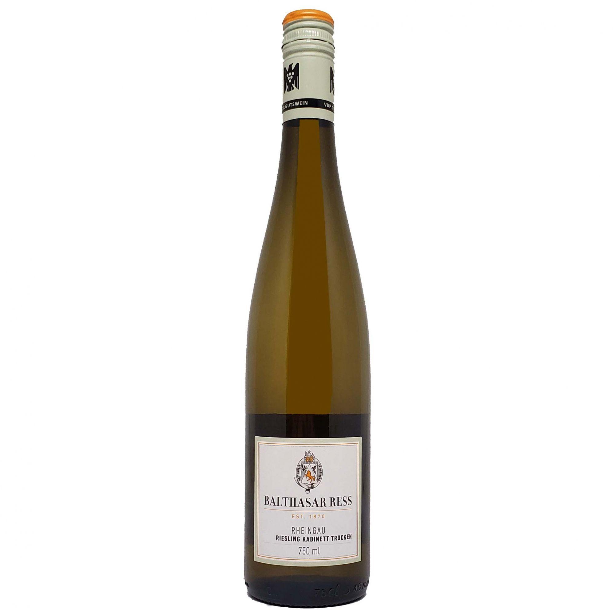 Vinho Branco Balthasar Ress Rheingau Riesling Kabinett Trocken - 750ml -