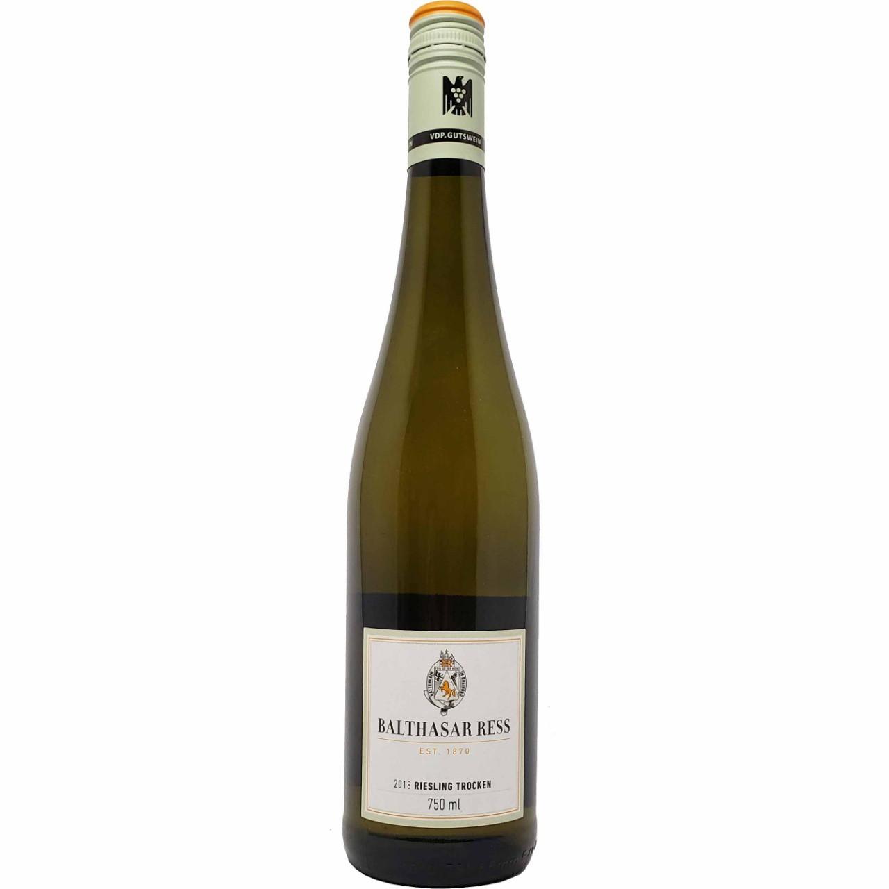 Vinho Branco Balthasar Ress Riesling Trocken - 750ml -