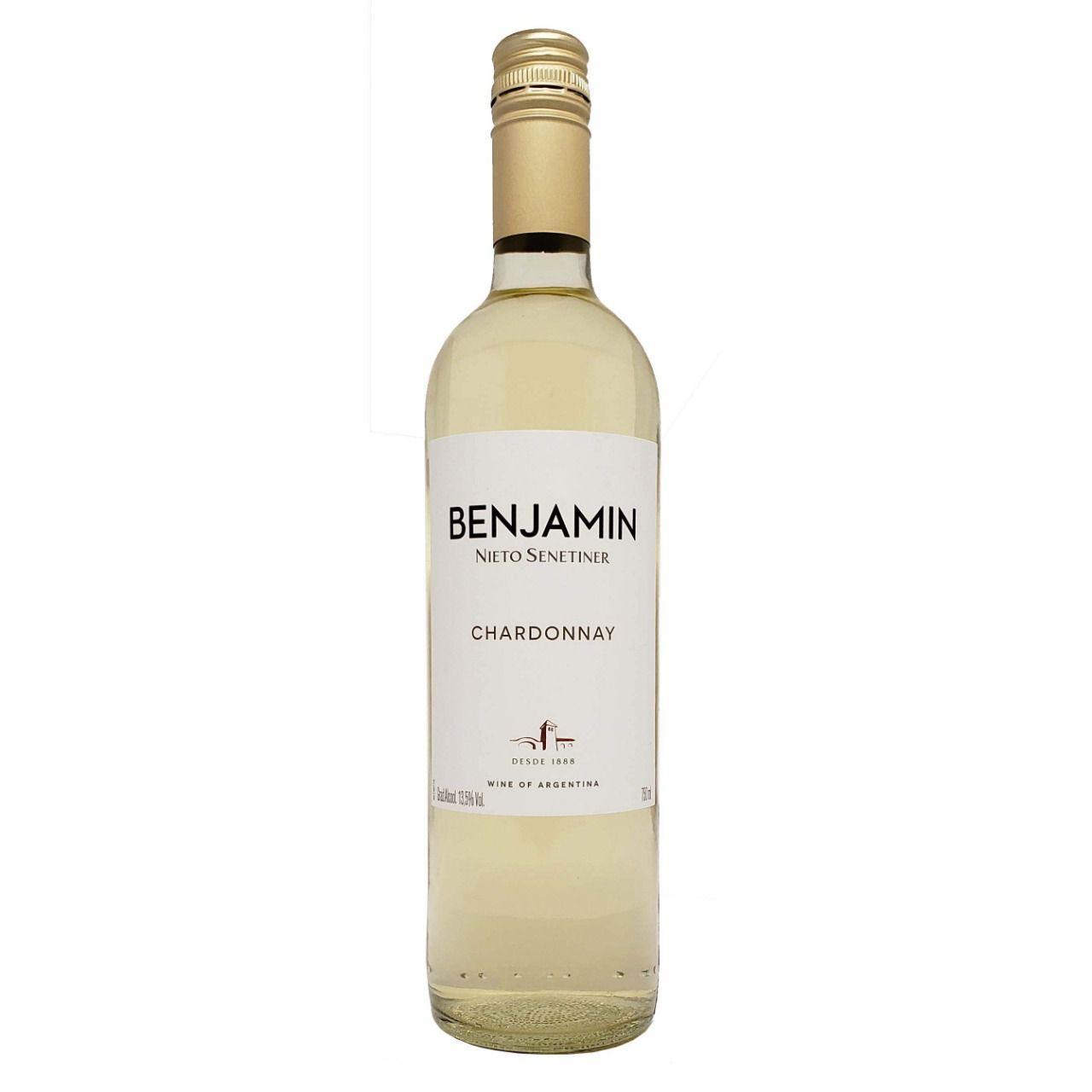 Vinho Branco Benjamin Nieto Senetiner Chardonnay - 750ml -