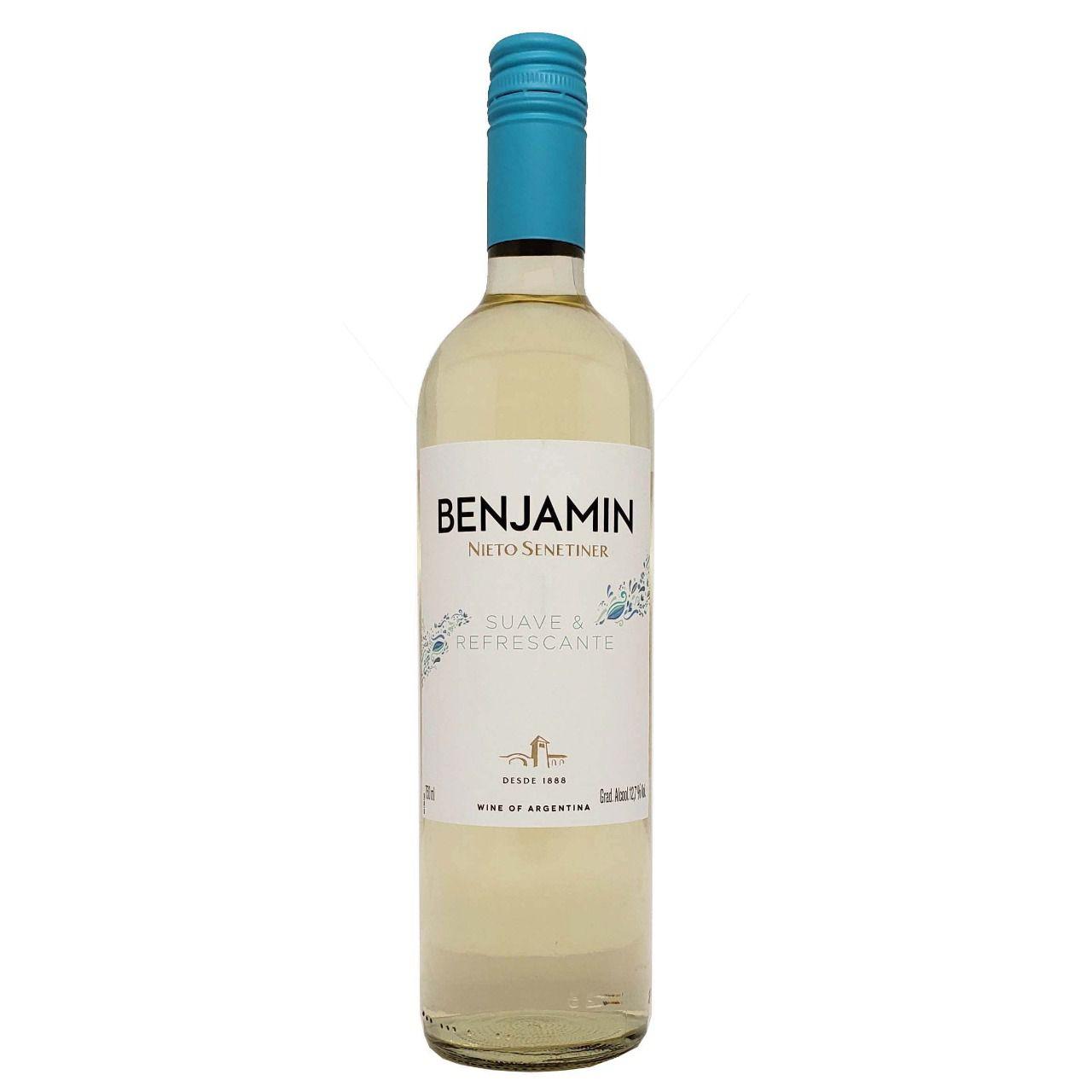 Vinho Branco Benjamin Nieto Senetiner Suave & Refrescante - 750ml -