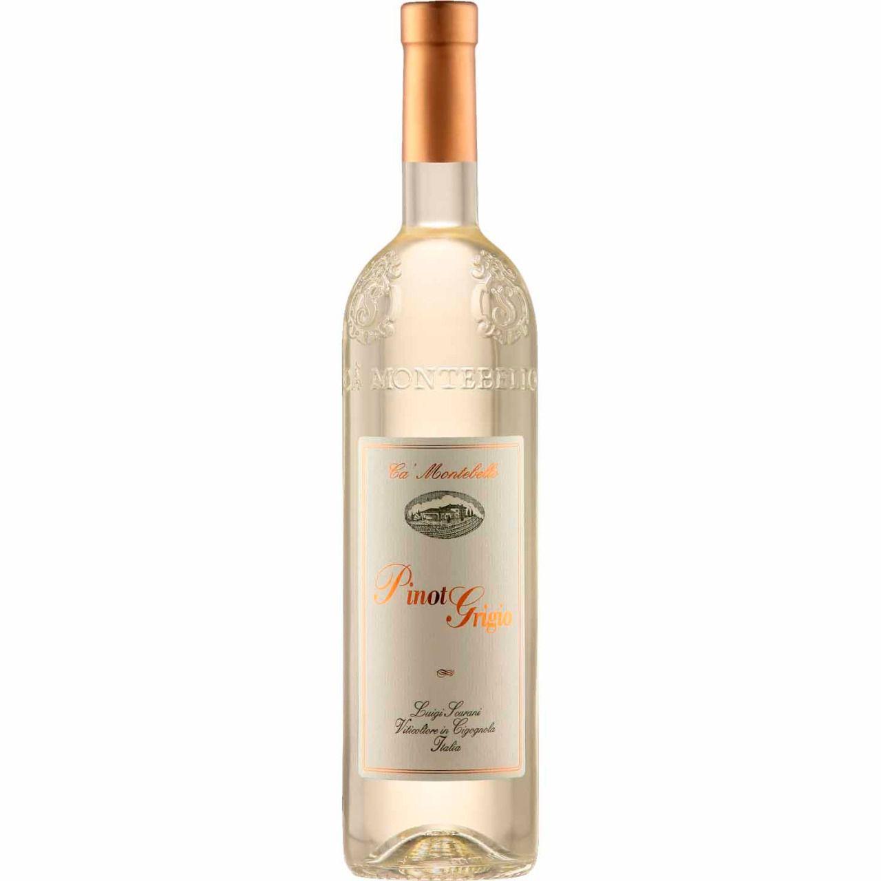 Vinho Branco Ca´Montebello Pinot Grigio - 750ml -