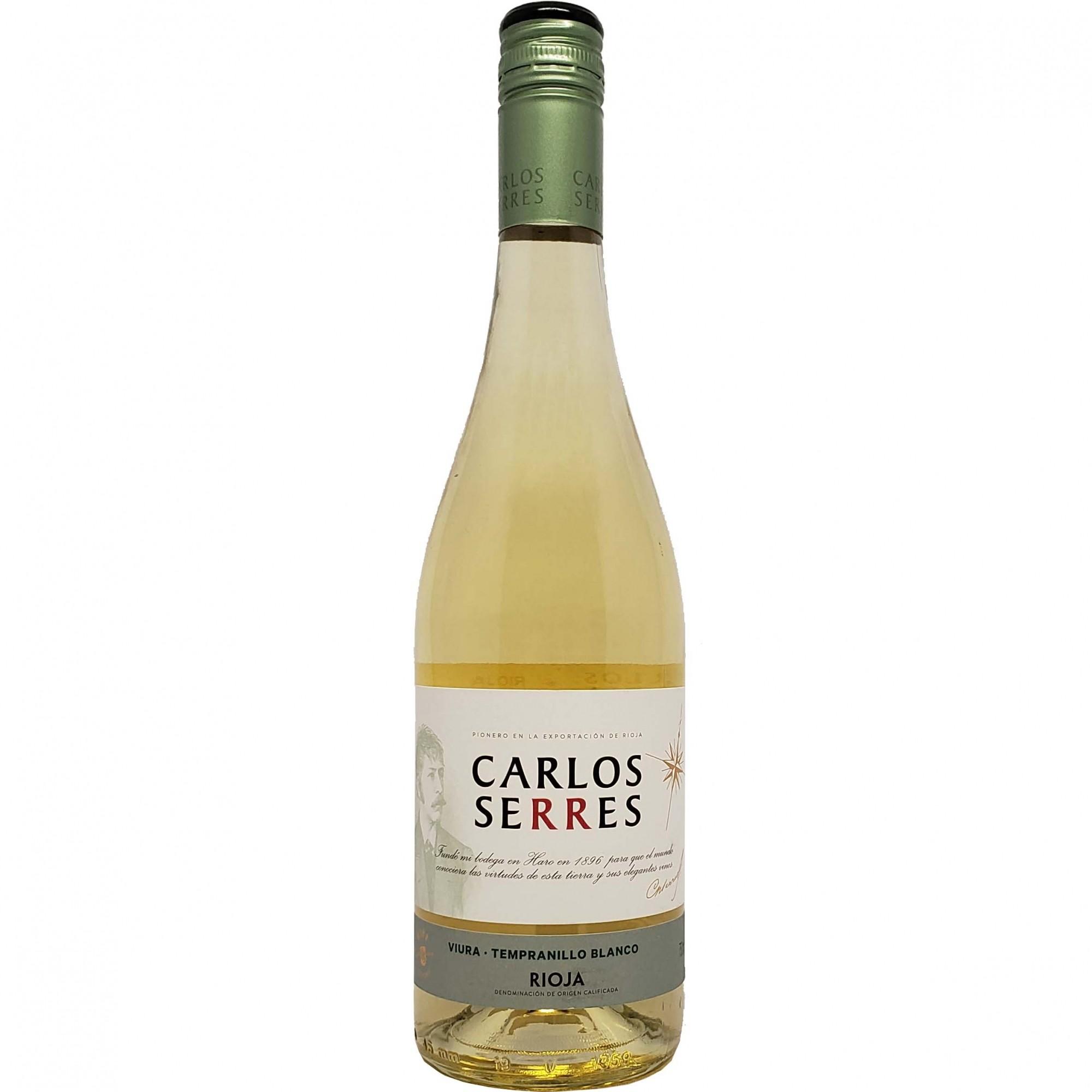 Vinho Branco Carlos Serres Viura-Tempranillo Rioja - 750ml -