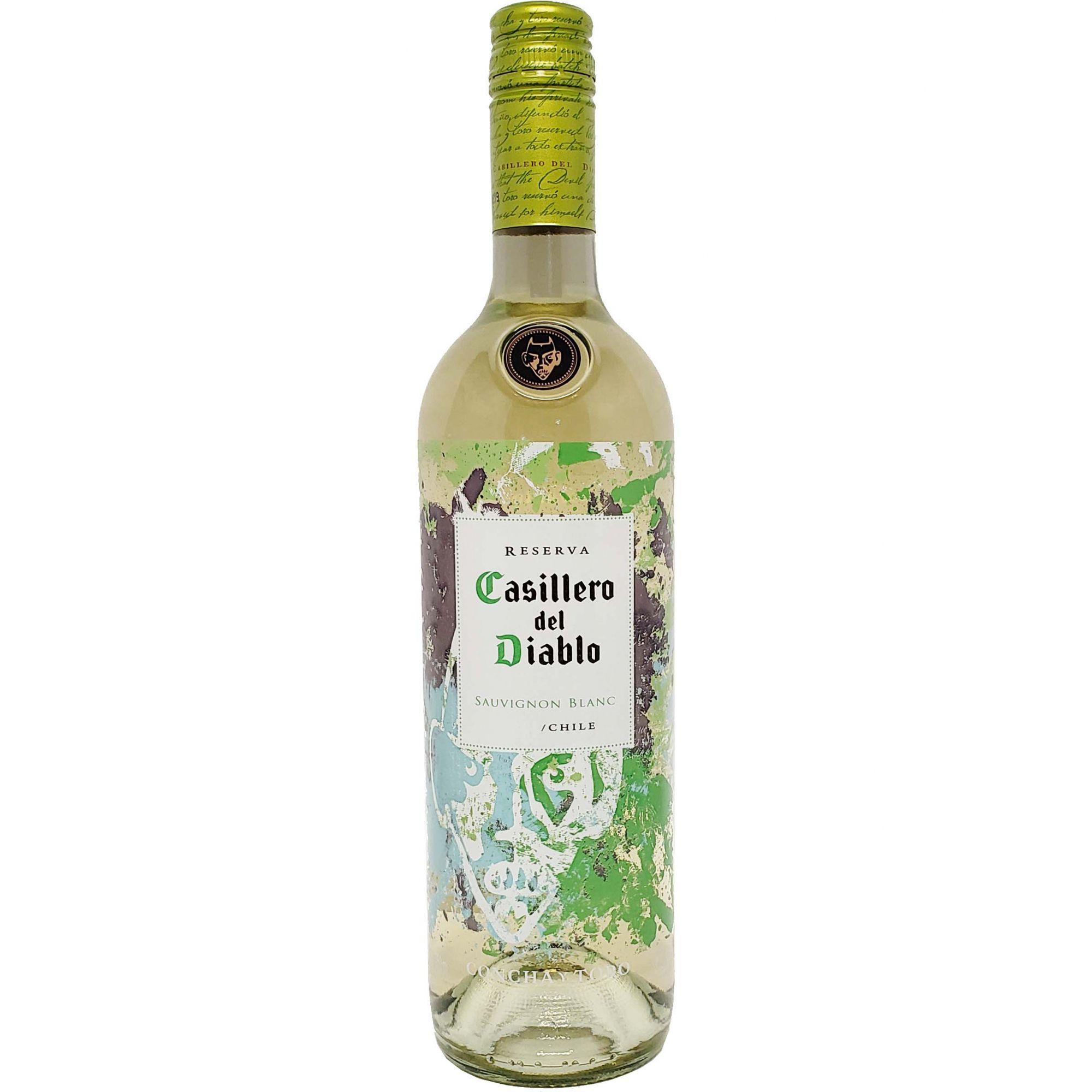 Vinho Branco Casillero del Diablo Sauvignon Blanc Reserva  - 750ml -