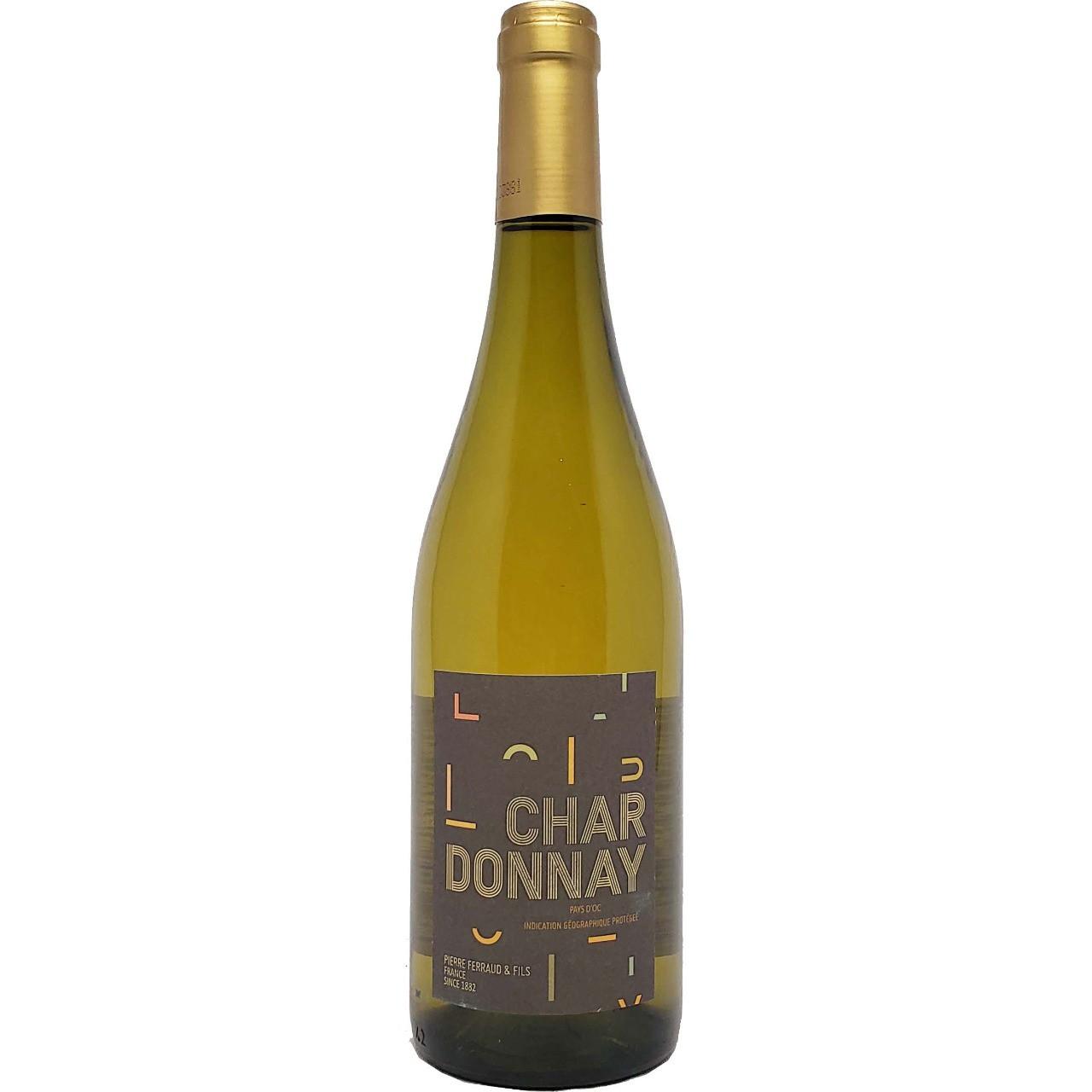Vinho Branco Chardonnay Pierre Ferraud & Fils - 750ml -