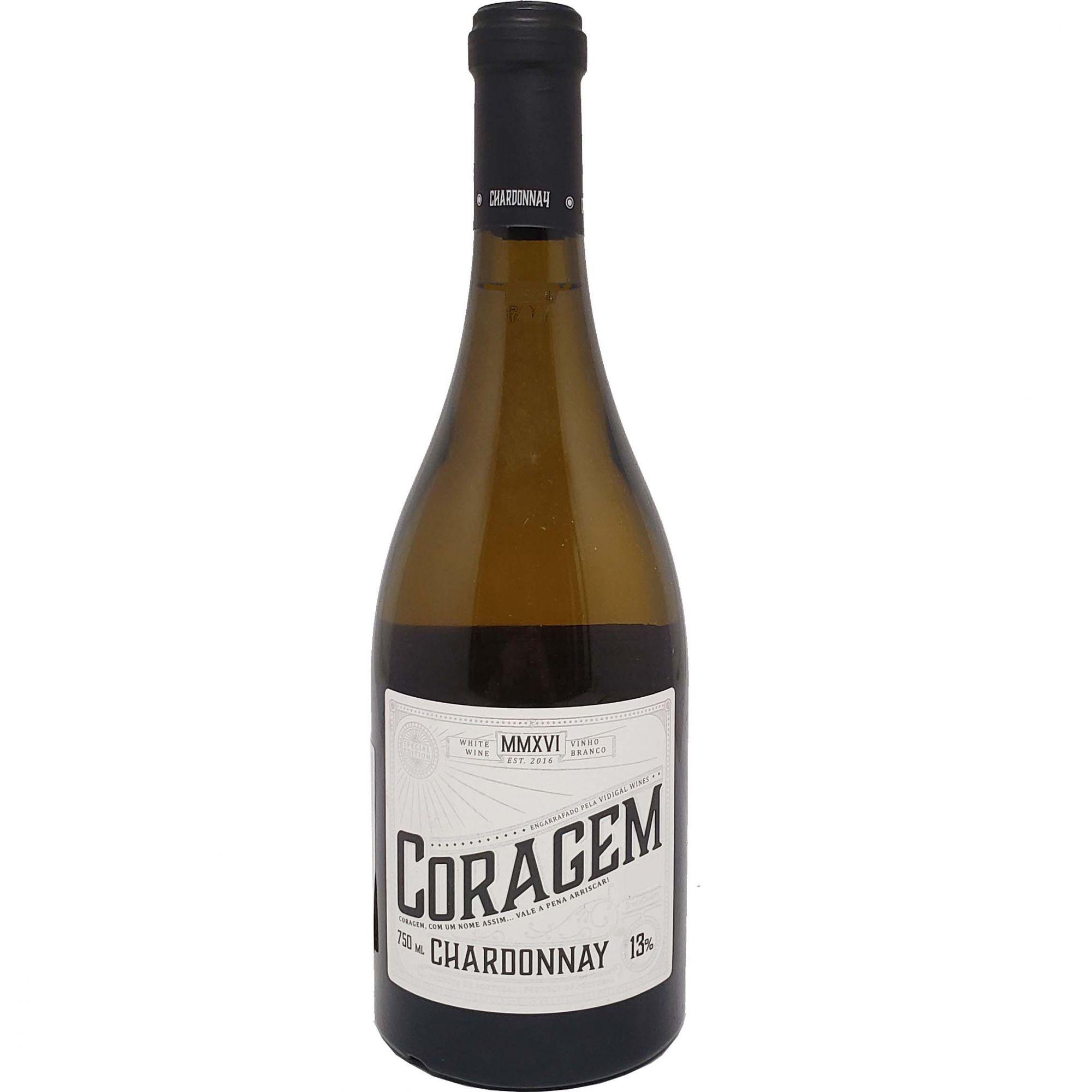 Vinho Branco Coragem Chardonnay - 750ml -