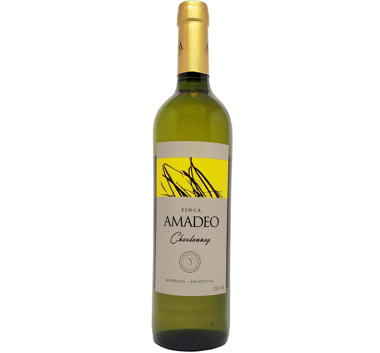 Vinho Branco Finca Amadeo Chardonnay - 750ml -