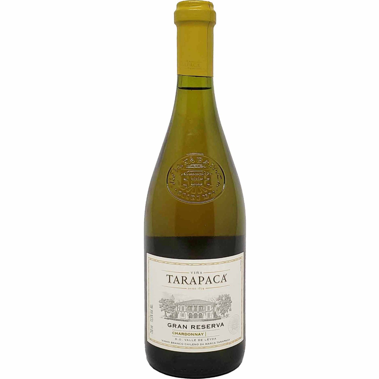 Vinho Branco Gran Reserva Chardonnay Tarapacá  - 750ml -