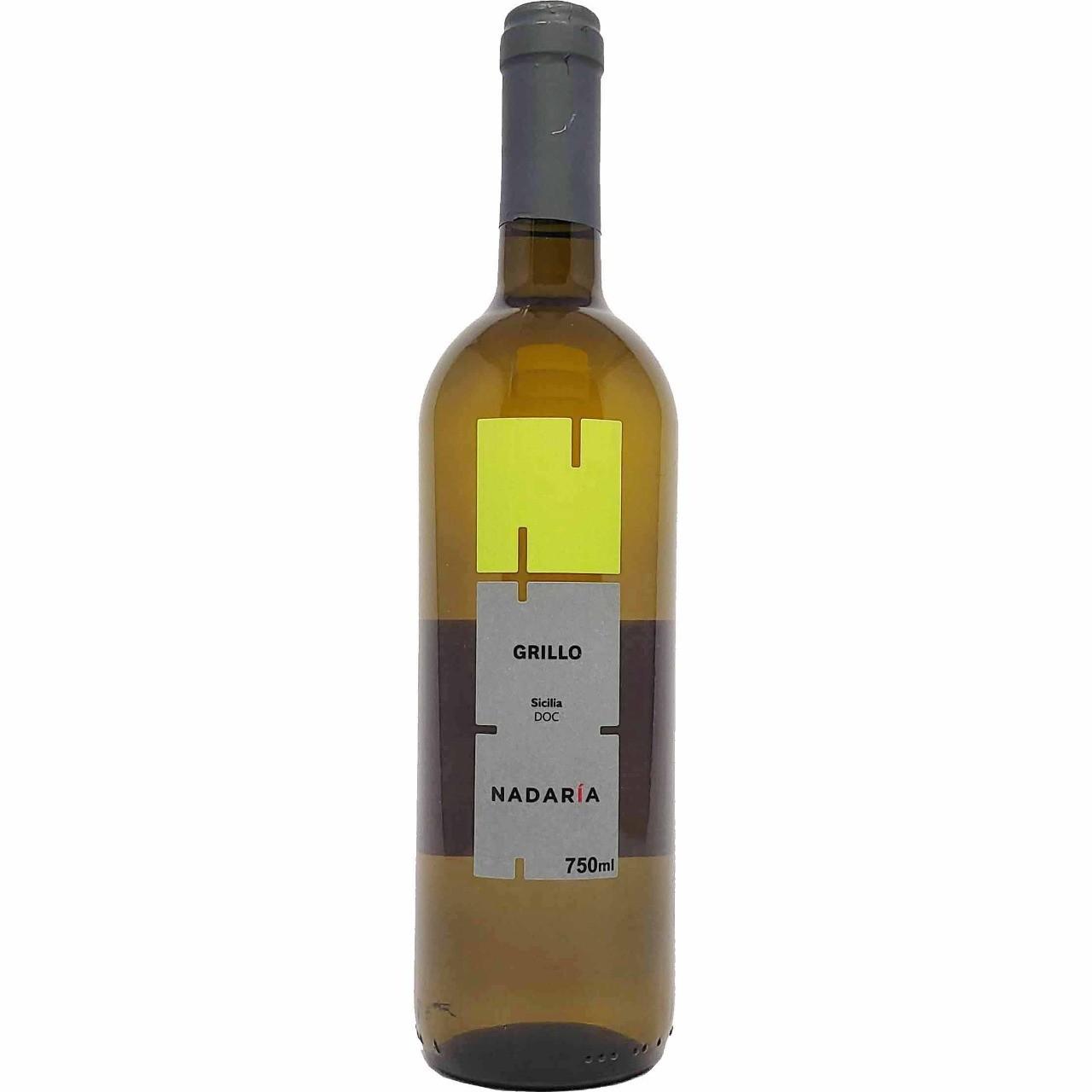 Vinho Branco Grillo Nadaría Sicilia - 750ml -