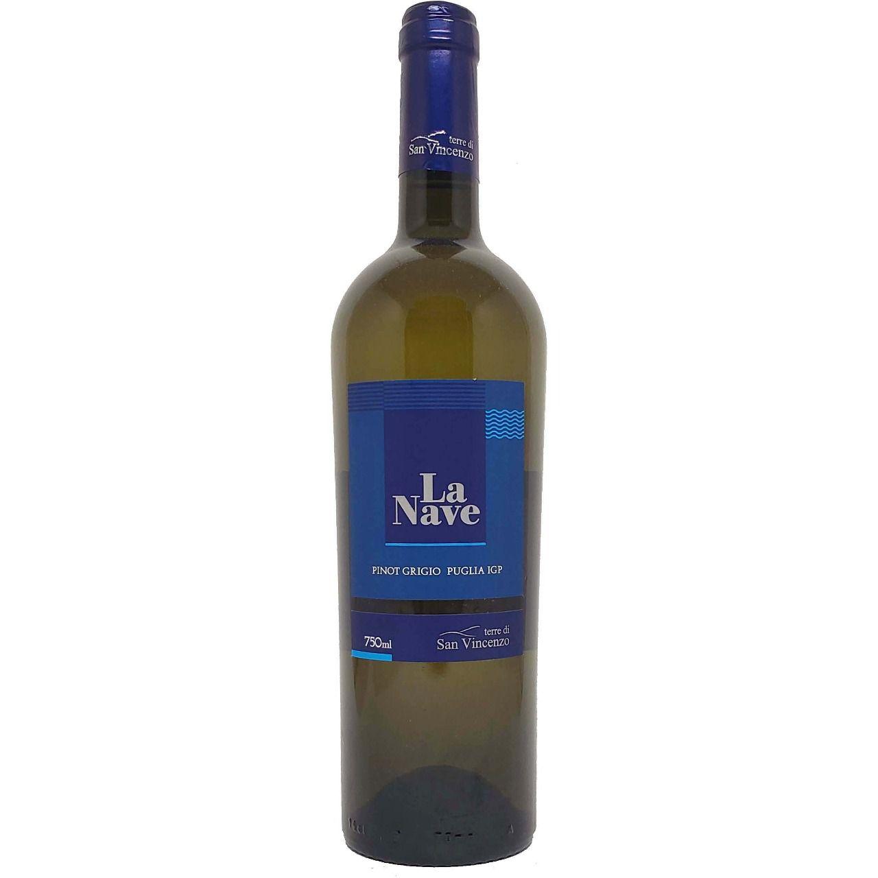 Vinho Branco La Nave Pinot Grigio - 750ml -