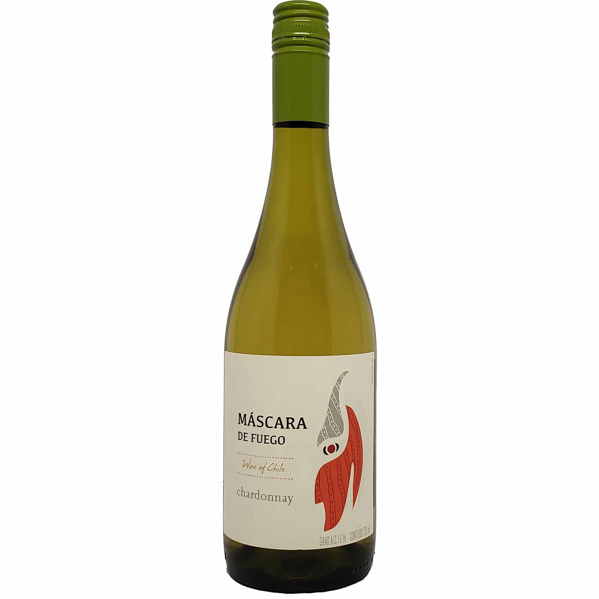 Vinho Branco Máscara de Fuego Chardonnay- 750ml -
