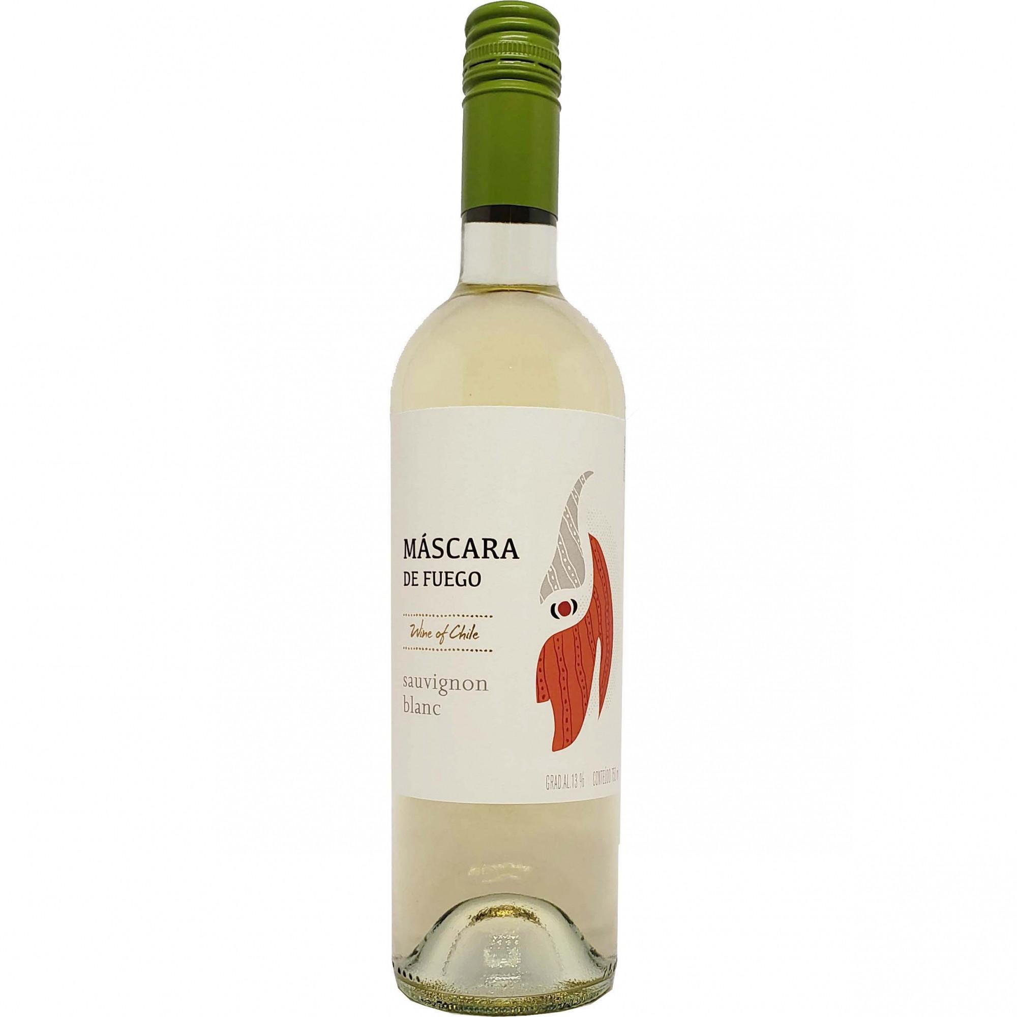 Vinho Branco Máscara de Fuego Sauvignon Blanc - 750ml -