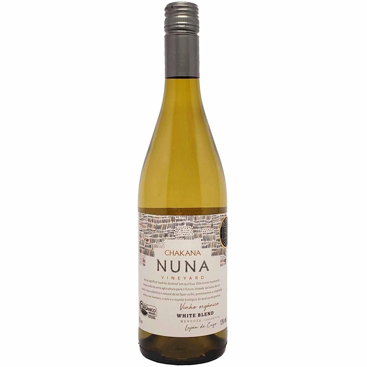 Vinho Branco Orgânico Chakana Nuna Vineyard White Blend - 750ml -