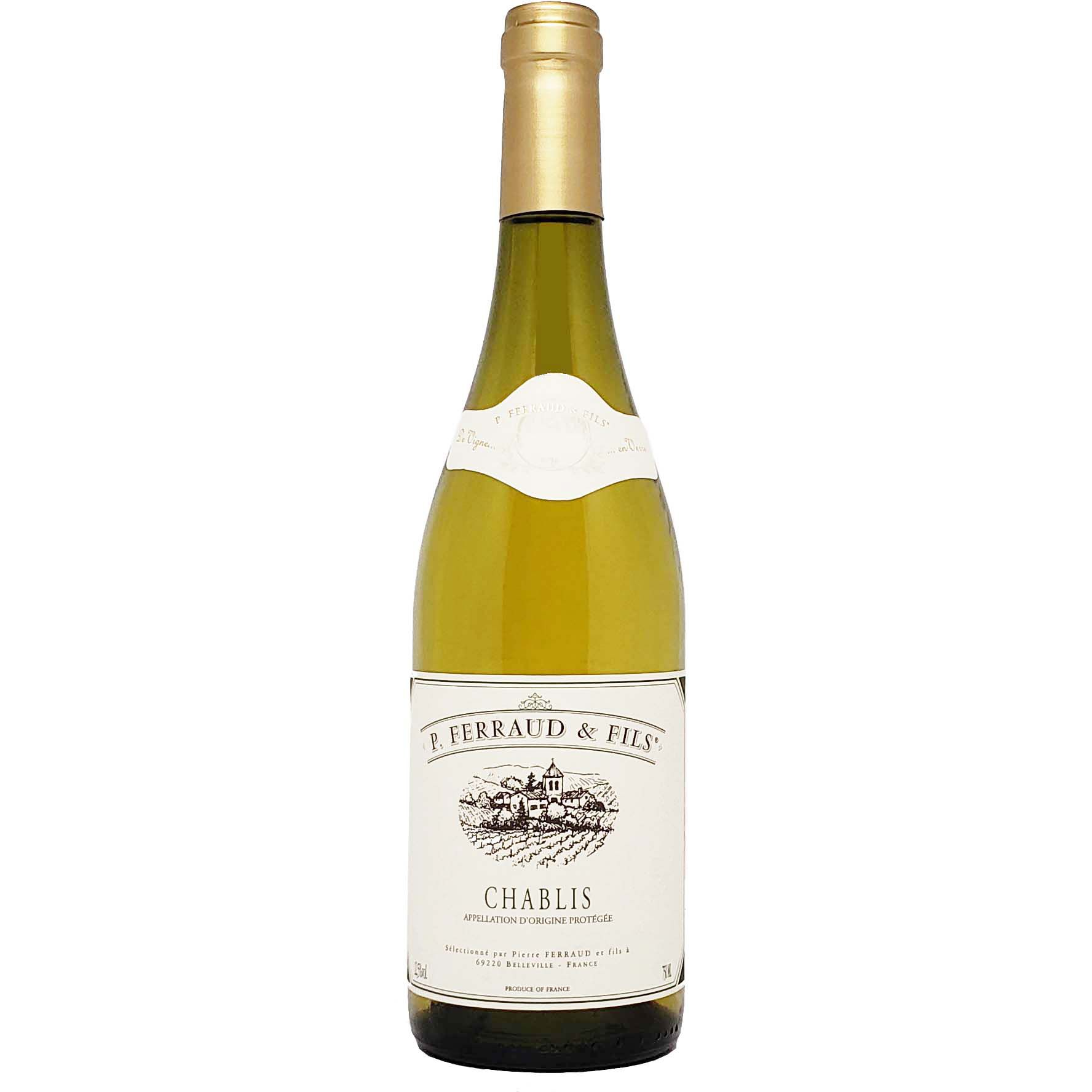 Vinho Branco P Ferraud & Fils Chablis - 750ml -