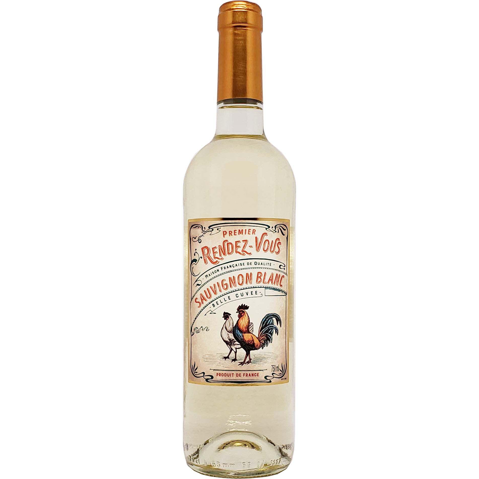 Vinho Branco Premier Rendez Vous Sauvignon Blanc - 750ml -