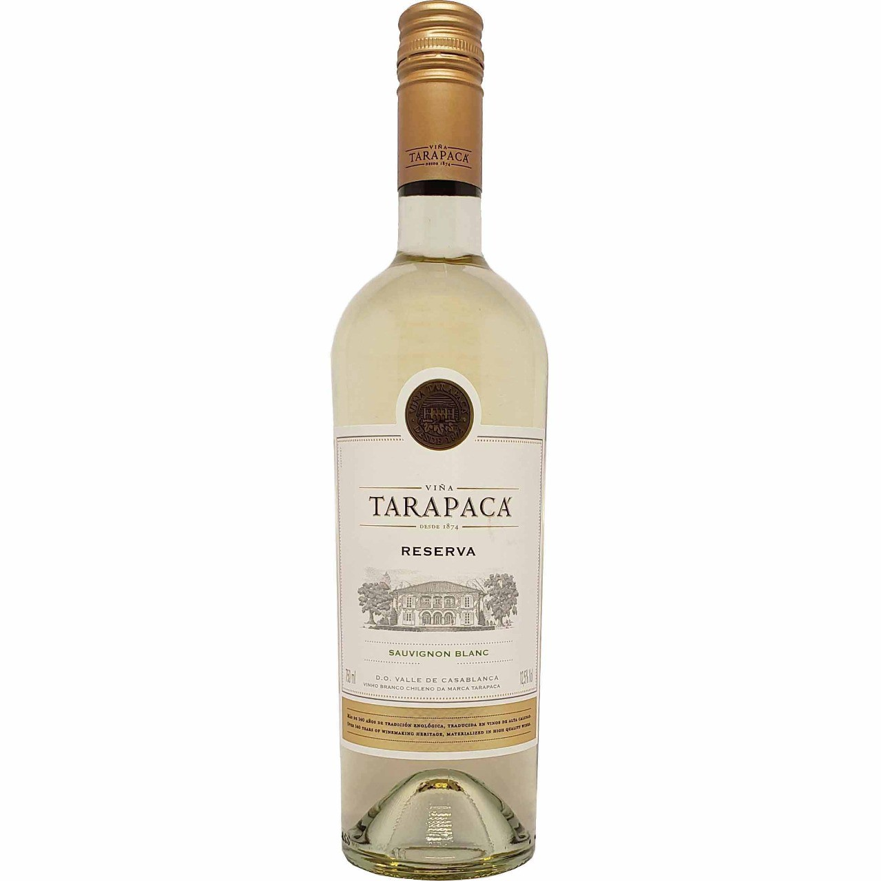 Vinho Branco Reserva Tarapacá Sauvignon Blanc - 750ml -