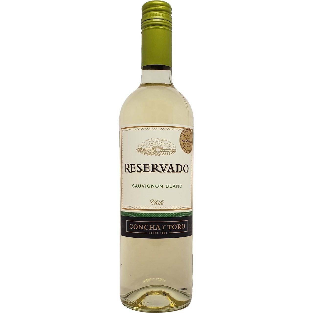 Vinho Branco Reservado Sauvignon Blanc Concha Y Toro - 750ml -