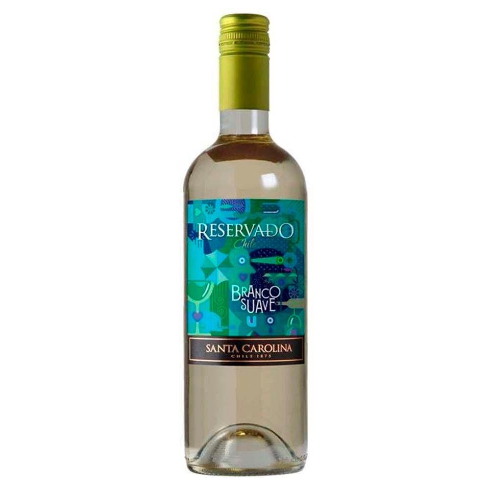Vinho Branco Suave Reservado Santa Carolina  - 750ml -