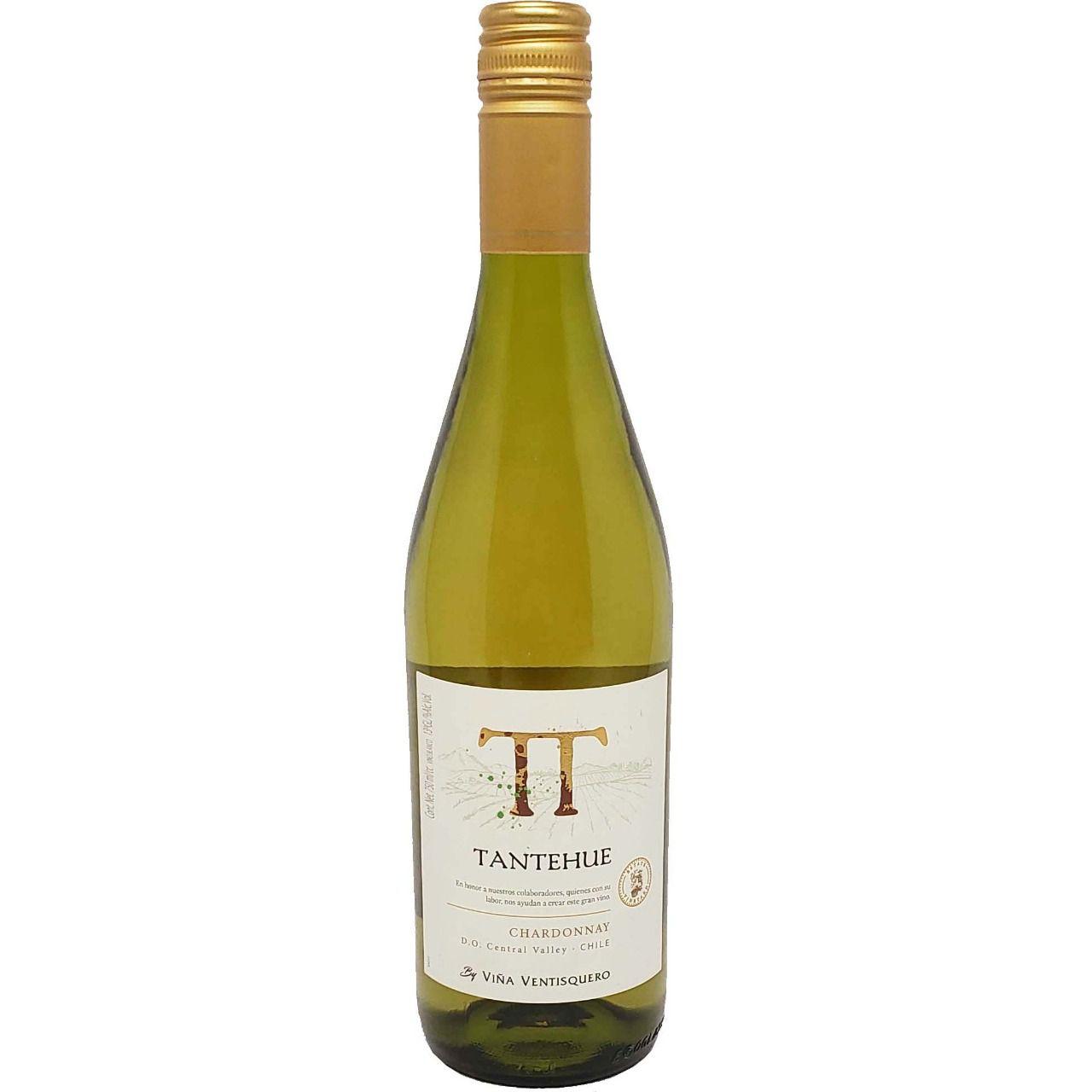 Vinho Branco Tantehue Chardonnay - 750ml -