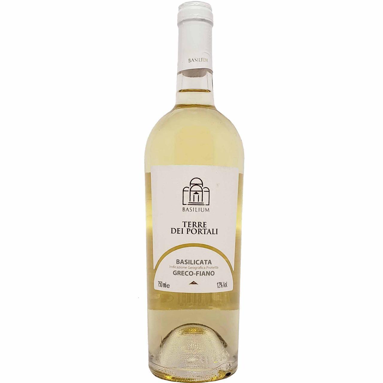Vinho Branco Terre Dei Portali Basilicata Basilium - 750ml -