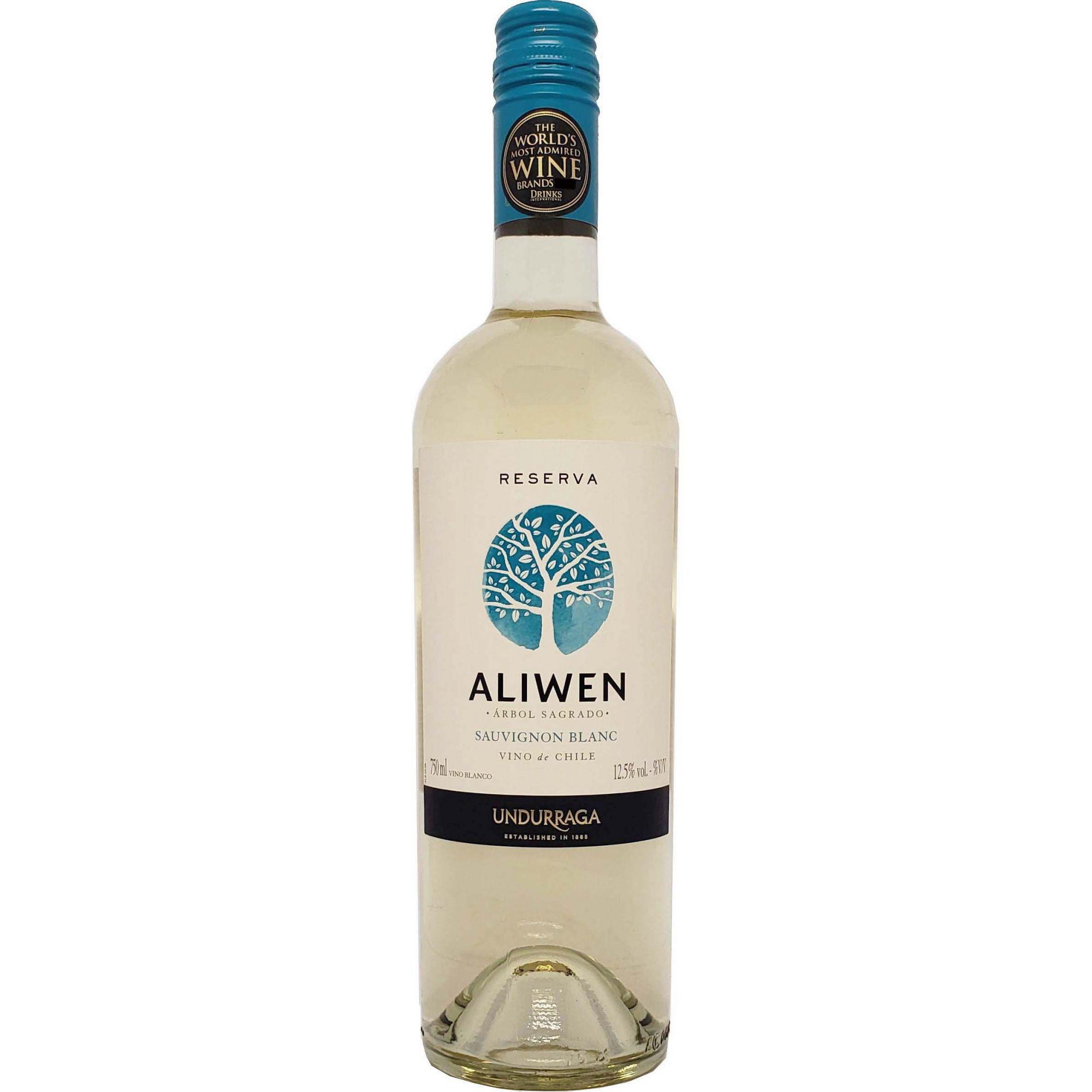Vinho Branco Aliwen Reserva Sauvignon Blanc Undurraga  - 750ml -