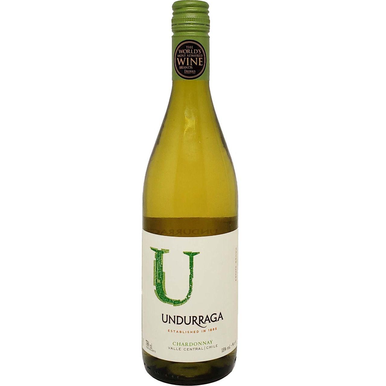 Vinho Branco Undurraga Chardonnay - 750ml -