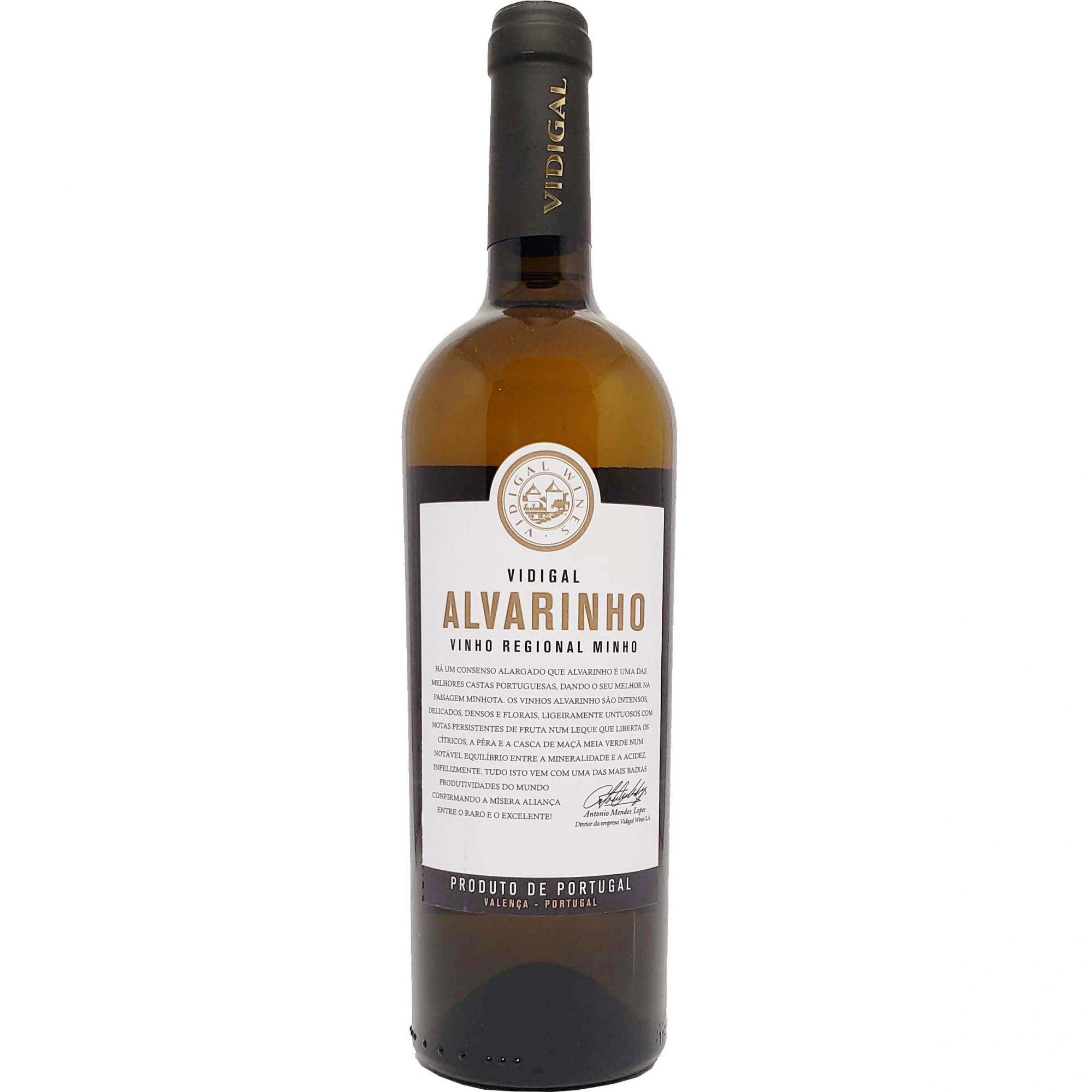 Vinho Branco Vidigal Alvarinho - 750ml -