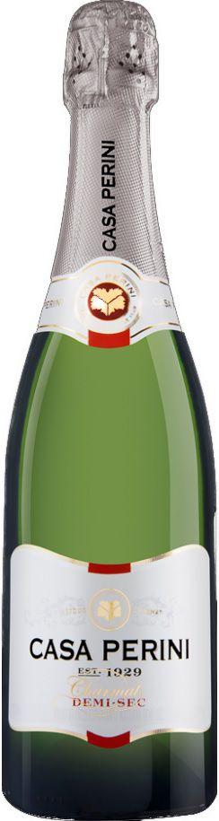 Vinho Espumante Branco Casa Perini Charmat Demi-Sec - 750ml -