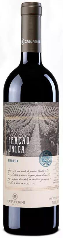 Vinho Tinto Casa Perini Fração Única Merlot - 750ml -