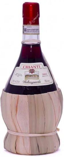 Vinho Tinto Chianti Bellosguardo Empalhado - 750ml -