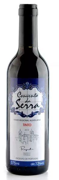 Vinho Tinto Convento da Serra - 375ml -
