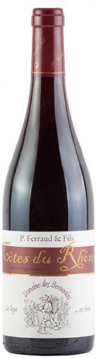 Vinho Tinto Côtes-du-Rhône P.Ferraud Les Bernardins - 750ml -