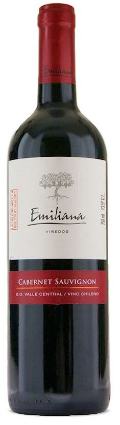 Vinho Tinto Emiliana Cabernet Sauvignon - 750ml -
