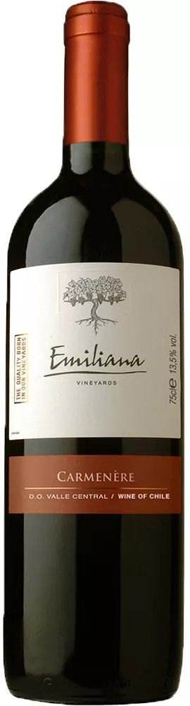 Vinho Tinto Emiliana Carmenère - 750ml -