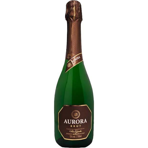 Vinho Espumante Branco Aurora Brut - 750ml -