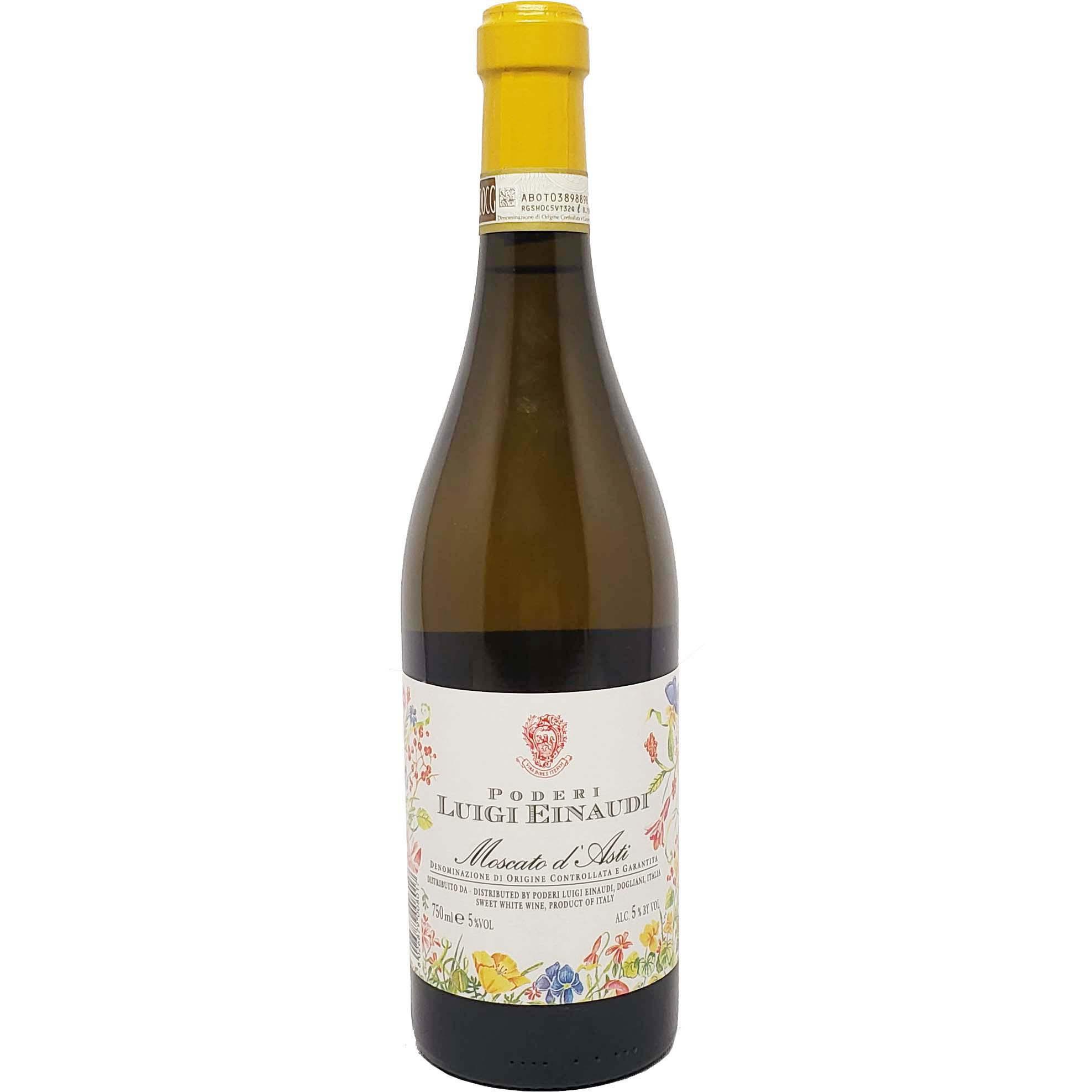 Vinho Espumante Branco Doce Poderi Luigi Einaudi Moscato D'Asti  DOCG - 750ml -
