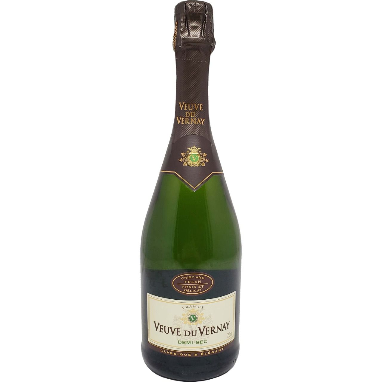 Vinho Espumante Branco Veuve Du Vernay Demi-Sec - 750ml -