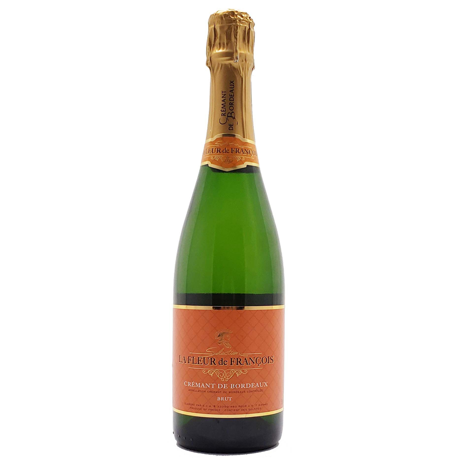 Vinho Espumante Branco La Fleur de Francois Cremant de Bordeaux Brut - 750ml -